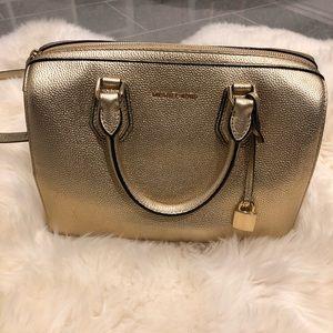 Light gold authentic MK bag